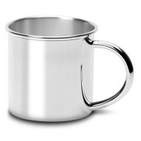 Classic Traditional Silver Plated Baby Cup