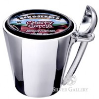Lunares Ice Cream Holder with Scoop - Quart