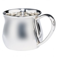 Lunt Sterling Silver Pot Belly Baby Cup