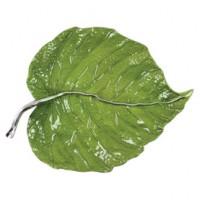 Mariposa Leaf Platter Green