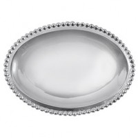 Mariposa Small Oval Statement Tray