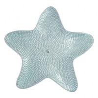 Mariposa Starfish Platter with Aqua Enamel Interior