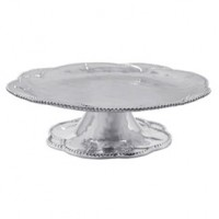 Mariposa Sueno Footed Server Cake Plate