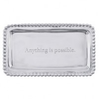 Mariposa Statement Tray - Anything is Possible