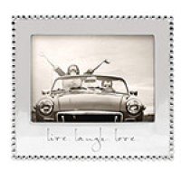 "Mariposa ""Live. Laugh. Love."" Picture Frame - 5 x 7"