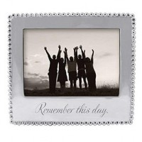"Mariposa ""Remember This Day"" Picture Frame - 5 x 7"