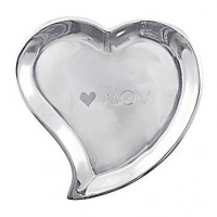 Mariposa Heart Canape Plate - I Heart Mom