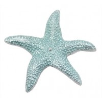 Mariposa Starfish Napkin Weight - Aqua