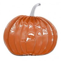 Mariposa Pumpkin Platter - Orange Enamel