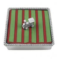 Mariposa Train Napkin Box - Available from SilverGallery.com
