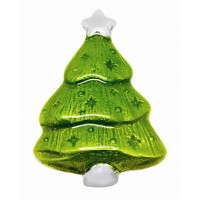 Mariposa Christmas Tree Napkin Weight - Green