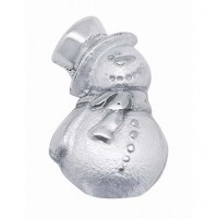 Mariposa Snowman Napkin Weight - White