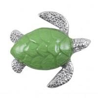 Mariposa Sea Turtle Napkin Weight - Green