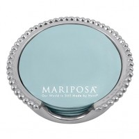 Mariposa Beaded Coaster Holder