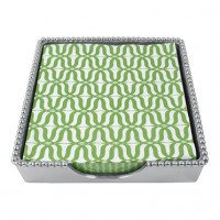 Mariposa Jacki Beaded Napkin Box - Luncheon Napkins