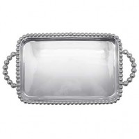 Mariposa String of Pearls Medium Service Tray