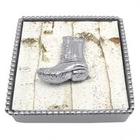 Mariposa Duck Boot Napkin Box