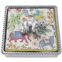 Mariposa Elephant Napkin Box