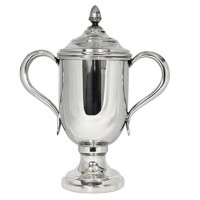 Salisbury Pewter Oxford Trophy Cup w/Lid - Large