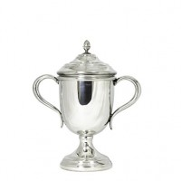 Salisbury Pewter Oxford Trophy Cup w/Lid - Small