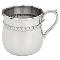 Reed & Barton Baby Hearts Pewter Baby Cup