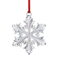 Reed & Barton 2014 Silver Snowflake Ornament