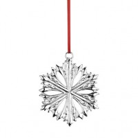 Reed & Barton 2015 Silver Snowflake Ornament - 3rd Edition - Available from SilverGallery.com