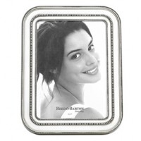Reed & Barton Heritage Banded Bead Frame - 5 x 7