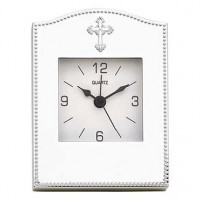 Reed & Barton Abbey Cross Engravable Clock