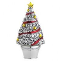 Reed & Barton Revolving Topiary Christmas Tree Musical - Oh Tannenbaum