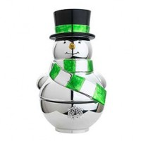 Reed & Barton Snowman Revolving Musical - Deck the Halls