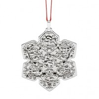 Reed & Barton Francis I Silver Snowflake Ornament 2017 - 20th Edition