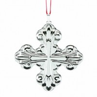 Reed & Barton Sterling Silver Christmas Cross Ornament 2017 - SOLD OUT