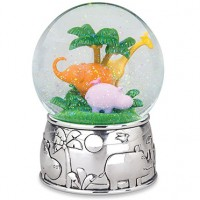 Reed & Barton Jungle Parade Musical Snow Globe