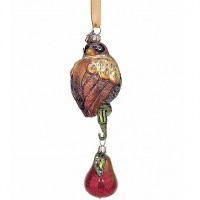 Reed & Barton Partridge in a Pear Tree Ornament