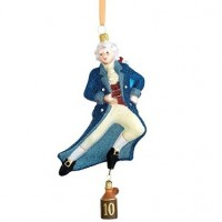 Reed & Barton Ten Lords A-Leaping Ornament