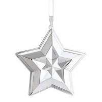 Lunt 2014 Sterling Silver Star Ornament - 20th Edition