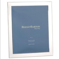 Reed & Barton Sterling Silver Narrow Border Picture Frame - 8 x 10