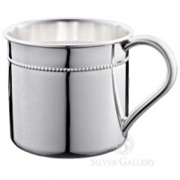 Reed & Barton Hampshire Bristol Beaded Sterling Baby Cup