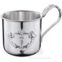 Reed & Barton Sterling Silver Francis I Child Cup w/ Fancy Handle
