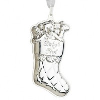Reed & Barton Sterling Baby's 1st Christmas Ornament - 2014