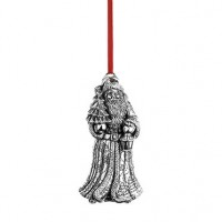 Reed & Barton Sterling Kris Kringle Santa of the World 2015 Ornament - Available from SilverGallery.com