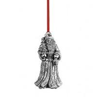 Reed & Barton Sterling Kris Kringle Santa of the World 2015 Ornament