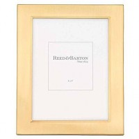 Reed & Barton Gold Plated Classic Channel Frame - 5 x 7