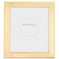 Reed & Barton Gold Plated Classic Channel Frame - 8 x 10