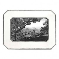 Reed & Barton Heritage Pewter Chamfered Edge Frame - 4 x 6