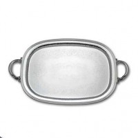 Reed & Barton Burgundy Pattern Waiter Silverplate Serving Tray