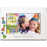 Reed & Barton Let's Celebrate Happy Birthday Picture Frame - 4 x 6