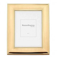 Reed & Barton Newton Gold Plated Picture Frame - 5 x 7