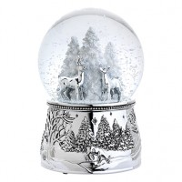 Reed & Barton North Pole Bound Christmas Snowglobe - Ships August 2017